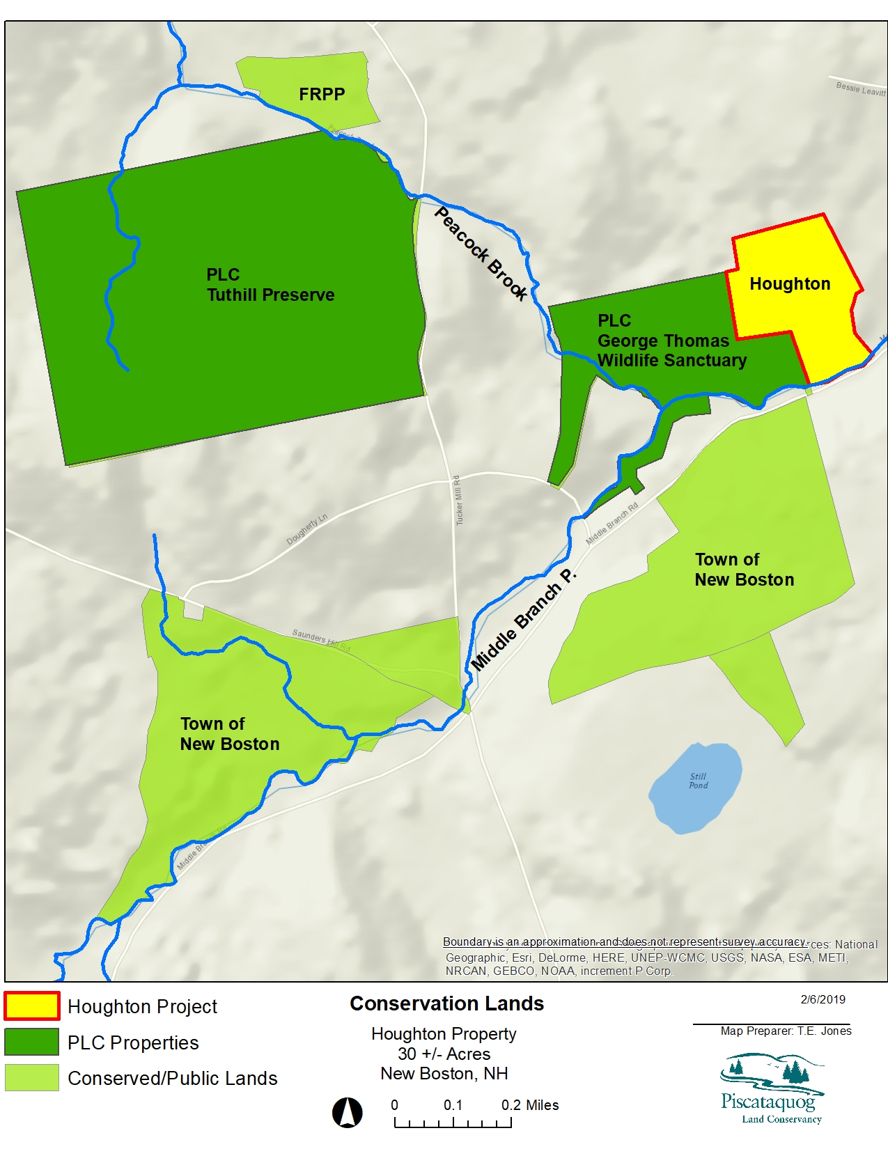 PLC to Protect Riverfront Land in New Boston - Piscataquog